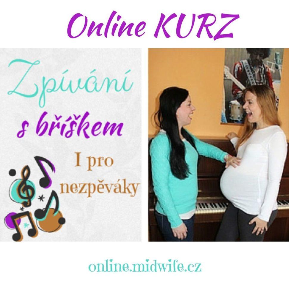 zpívání v těhotenství
