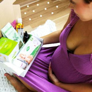 Originální dárek pro těhotnou - Midwife Box